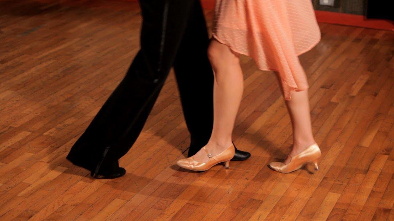 How To Do A Foxtrot Corner Step Ballroom Dance Youtube Steps Diagram