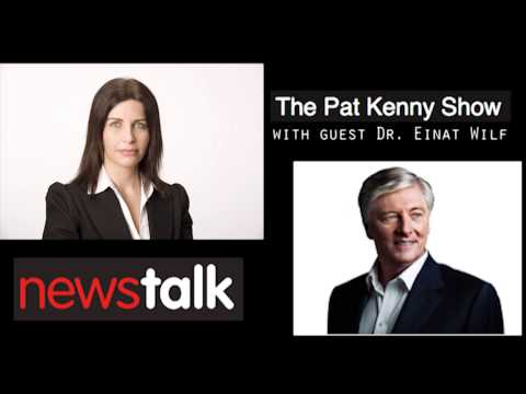 Dr. Einat Wilf on The Pat Kenny Show Discussing Tensions in Israel