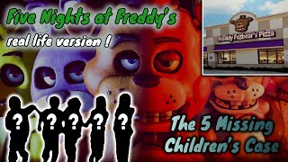 5 Children Missing In Chuck E Cheese: Five Nights at Freddy's Real Life Version !