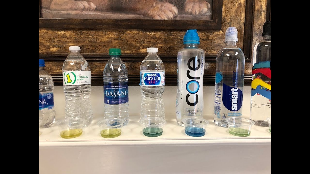 Is Bottled Water Safe? Find out here! PH Test! Shocked?