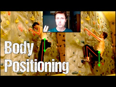 Rock Climbing Technique For Beginners Body Positioning And Center Of Gravity