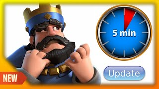 Matches will now be 5 MINUTES in Clash Royale! (UPDATE News & Balance Changes)