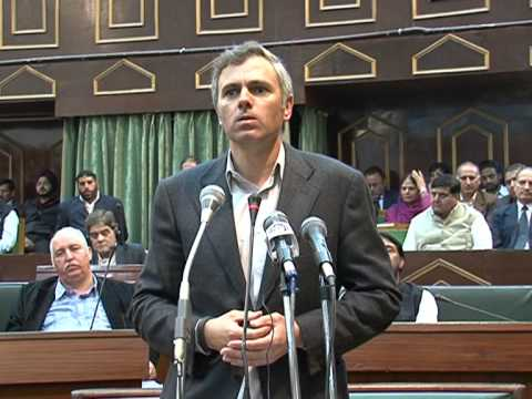 Omar Abdullah's emotional Speech in the Assembly on the death of a young boy in Baramulla