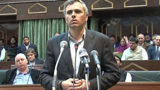 Repeat youtube video Omar Abdullah's emotional Speech in the Assembly on the death of a young boy in Baramulla