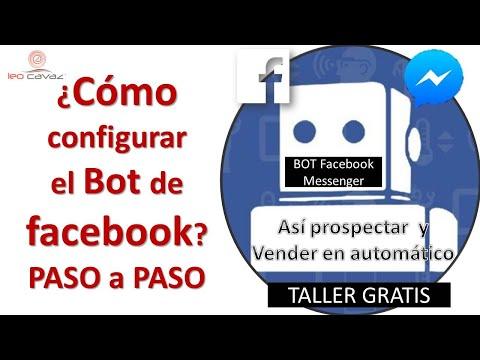 COMO ACTIVAR Y CONFIGURAR EL BOT FACEBOOK MESSENGER PASO A PASO   GRATIS
