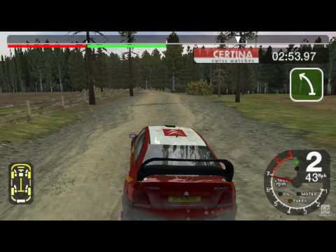 Colin McRae Rally 2005 Plus PSP Gameplay HD