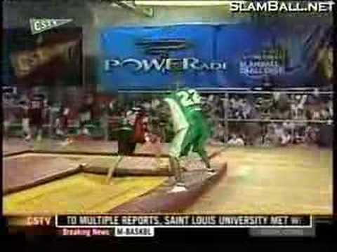 PowerADE SlamBall Challenge 1 - Mob vs Rumble part 1