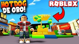 ¡HOT DOGS de ORO! REBIRTH - Roblox: Billionaire Simulator