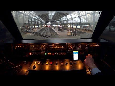Train Driver's POV Amersfoort - Amsterdam ICM 2018