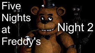 Zaranyzerak Plays Five Nights at Freddy's - Night 2