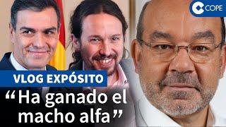 """Expósito analiza el pacto Sánchez-Iglesias: """"Lo vamos a flipar"""""""