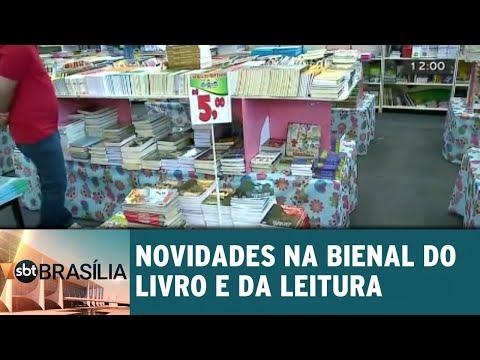 Novidades na Bienal do livro e da leitura | SBT Brasília 23/08/2018
