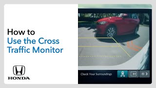 homepage tile video photo for How to Use the Cross Traffic Monitor