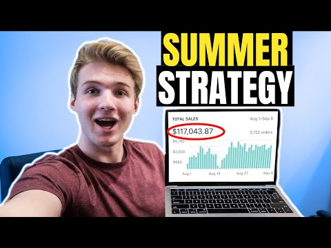 How To Make $100k On Shopify This Summer (Beginner Strategy 2019)