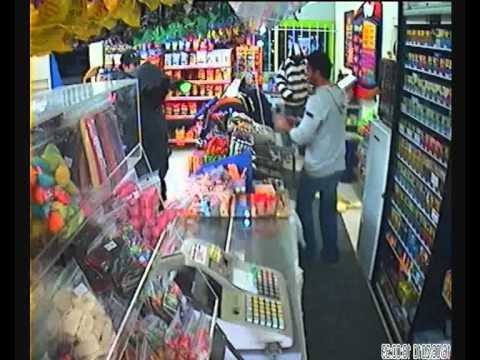 Convenience store armed robbery - New Zealand