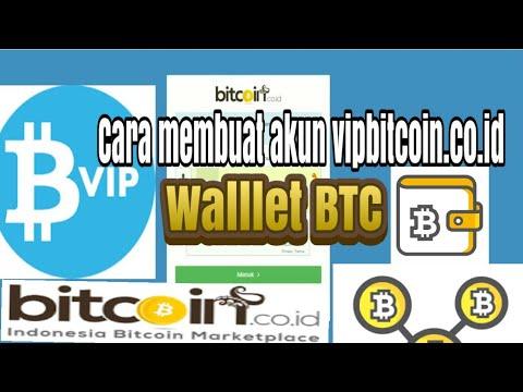 Cara Daftar Dompet Wallet Vip Bitcoin.co.id