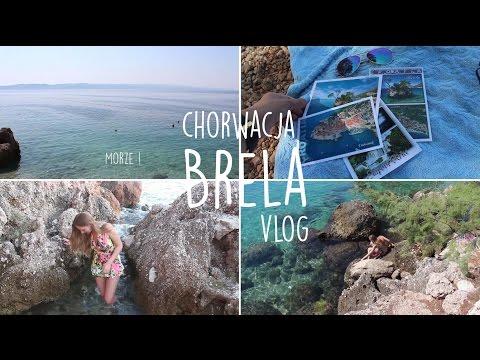 Vlog : Brela, Chorwacja | widoki, plaże, mini wyspa i kraby! | emyllka