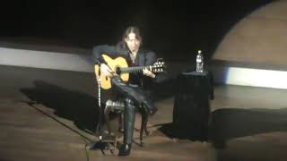Shiro Otake performs 'La tierra donde canta el viento (The land where the wind sings,)' an original guitar solo dedicated to Atahualpa Yupanqui during his ...