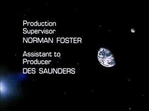 UFO - TV Series - Ending Sequence