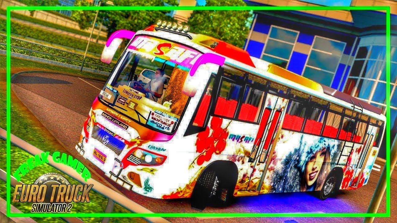 Ets2 Indian Bus Mod 1 30 Ashok Leyland || First indian Bus