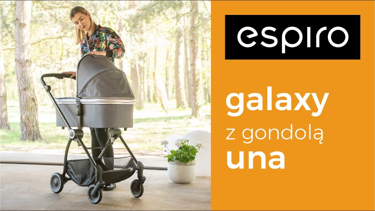 Детская коляска Espiro Galaxy 2 в 1
