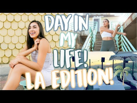 Real Day in My Life in LA! | Workout Routine, Acting Class, & Skincare!