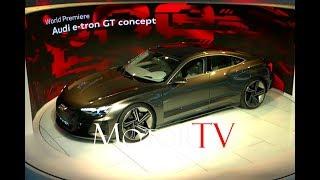 ALL NEW 2018 AUDI E-TRON GT CONCEPT l WORLD PREMIERE l 2018 LA Auto Show