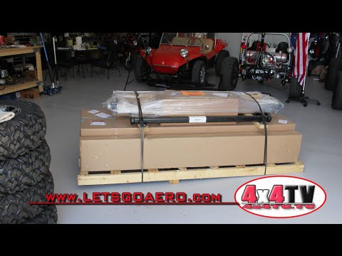 4x4TV Product Review - Little Giant Trailer Assembly. Lets Go Aero