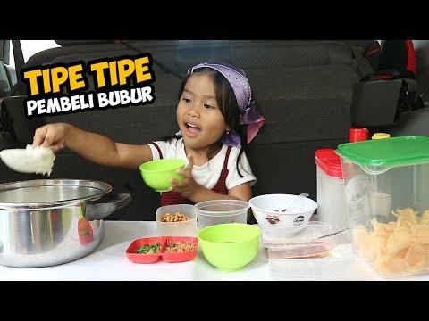 Image of TIPE-TIPE PEMBELI BUBUR | DEDE SENJA JUALAN BUBUR AYAM