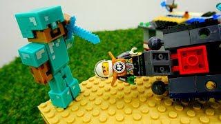 Секреты игры Майнкрафт - Что ищет Робот в доме Стива и Алекс?