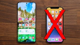 5 Reasons Why The Galaxy S20 Ultra DESTROYS the iPhone 12 Pro (Max)