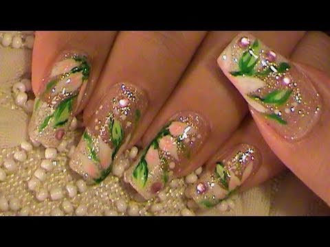 Color Changing White French Manicure To A Red Nail Art Tutorial Youtube