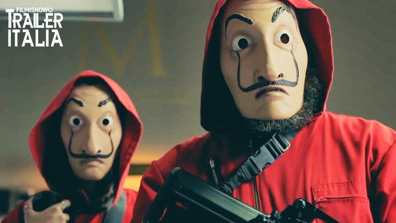 Castelli Di Cartone Film : La casa di carta parte 2 trailer seconda stagione netflix la