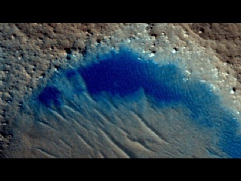 New Lake Found on Mars