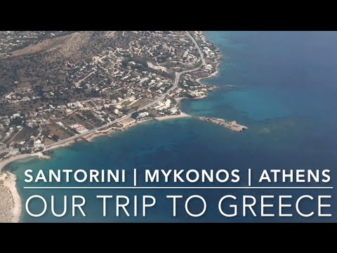Our Trip to Greece: Santorini, Mykonos, Athens (9-day Itinerary)