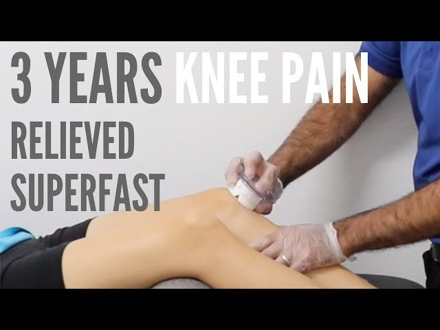 3 Years of Knee Pain Relieved Superfast with ASTR (REAL TREATMENT!!!!)