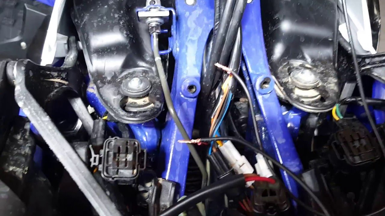 how to install a tethered kill switch on a 2015 yamaha yfz 450r  [ 1280 x 720 Pixel ]