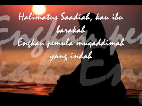 In-Team - Halimatus Saadiah + lirik