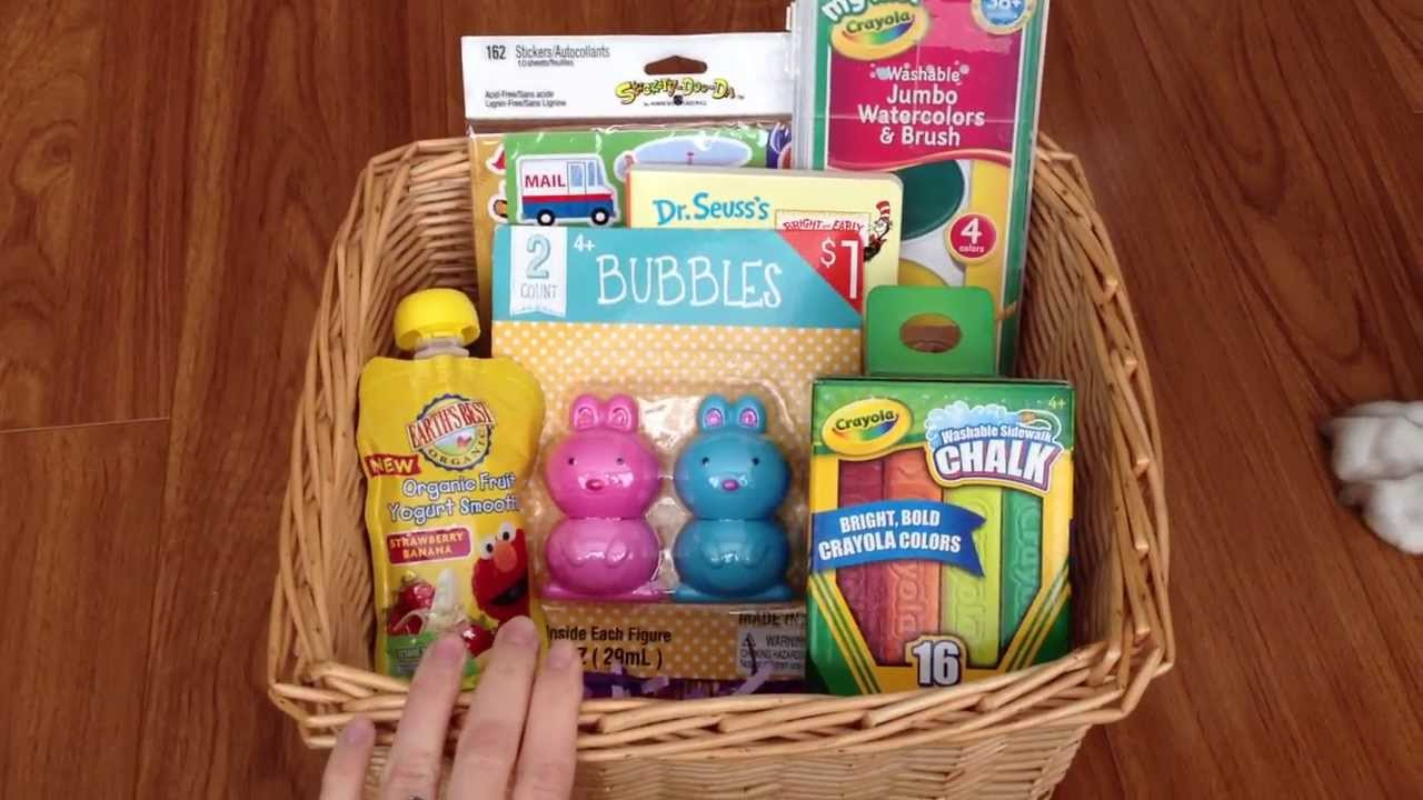 What S In My 2 Year Old S Easter Basket Youtube