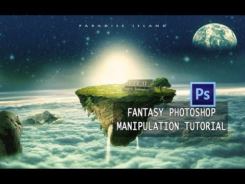 Paradise Island Photoshop Manipulation Tutorial   Creative Innovation
