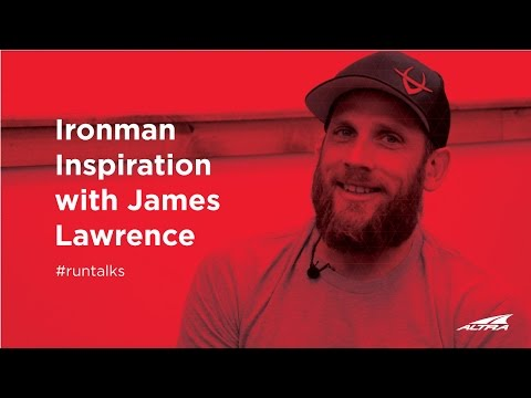 Ironman Inspiration with James Lawrence  The Iron Cowboy  Altra Run Talks Episode 12