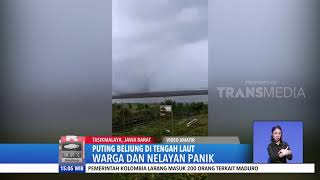 Download Video Puting Beliung di Tengah Laut Tasikmalaya, Warga dan Nelayan Panik MP3 3GP MP4