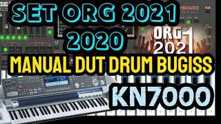 STYLE/SET ORG 2021_MANUAL DUT BUGIS DRUM KN7000