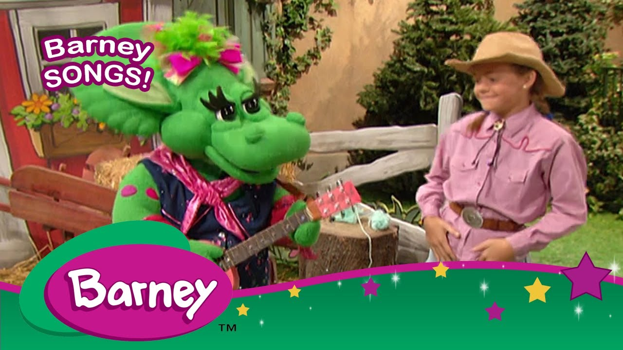 Barney|SONGS|Country Music STAR!