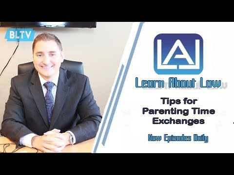 Tips for Parenting Time Exchanges | Illinois Divorce Help | Learn About Law