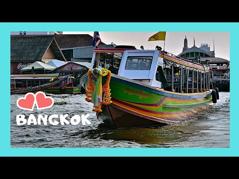 BANGKOK, The canals of the city and my thrilling boat ride (Thailand)