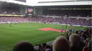 WORLD RECORD Football Match Attendance 2012 Glasgow Rangers FC IBROX