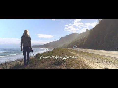 Colors of New Zealand | A Road Travel Film in 4k | GH4 Vlog L & Phantom 3 Professional S Log