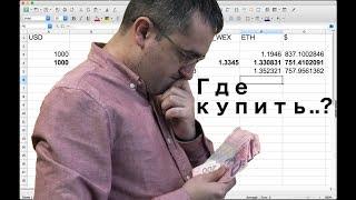 Как выгодно купить криптовалюту (BITCOIN,ETHEREUM,LITECOIN)?