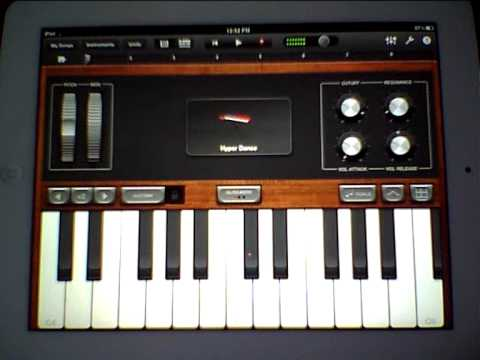 Garage Band Keyboard : Garageband and all the keyboard sounds korg microstation as
